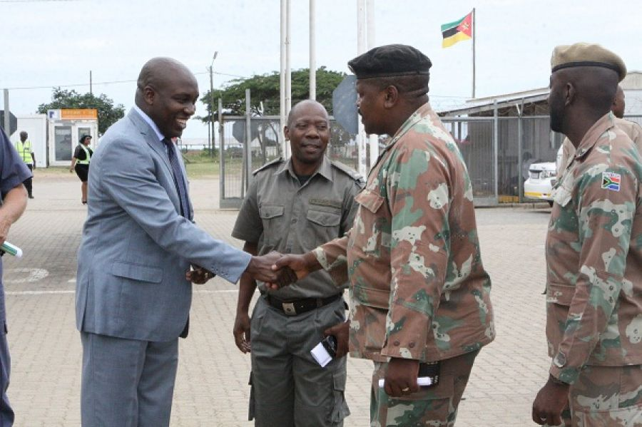MEC Kaunda Visits Manguzi to Assess Cross-Border Crime
