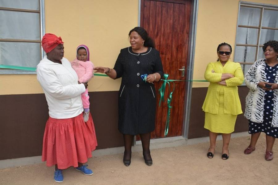 Official Handover of the R65 million Dukuza A Rural Housing Project