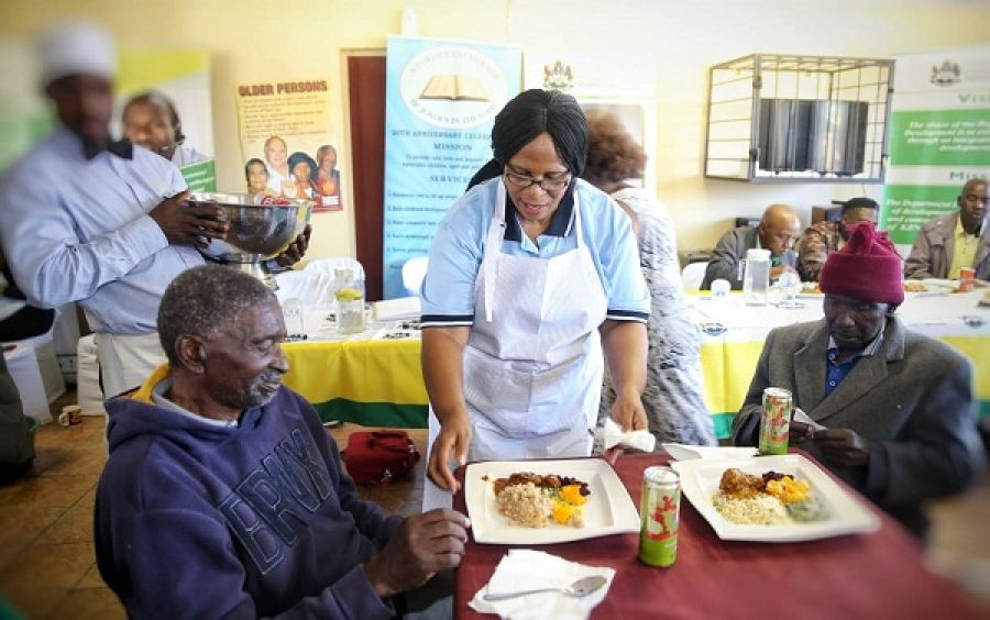 IT WAS AN UNFORGETTABLE MANDELA DAY FOR OLDER PERSONS EZINQOLENI