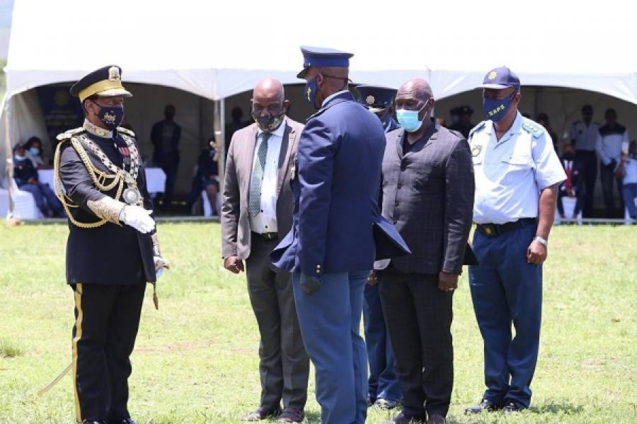 SAPS LAUNCHES ROYAL POLICE RESERVISTS CONCEPT AT KWA-NONGOMA