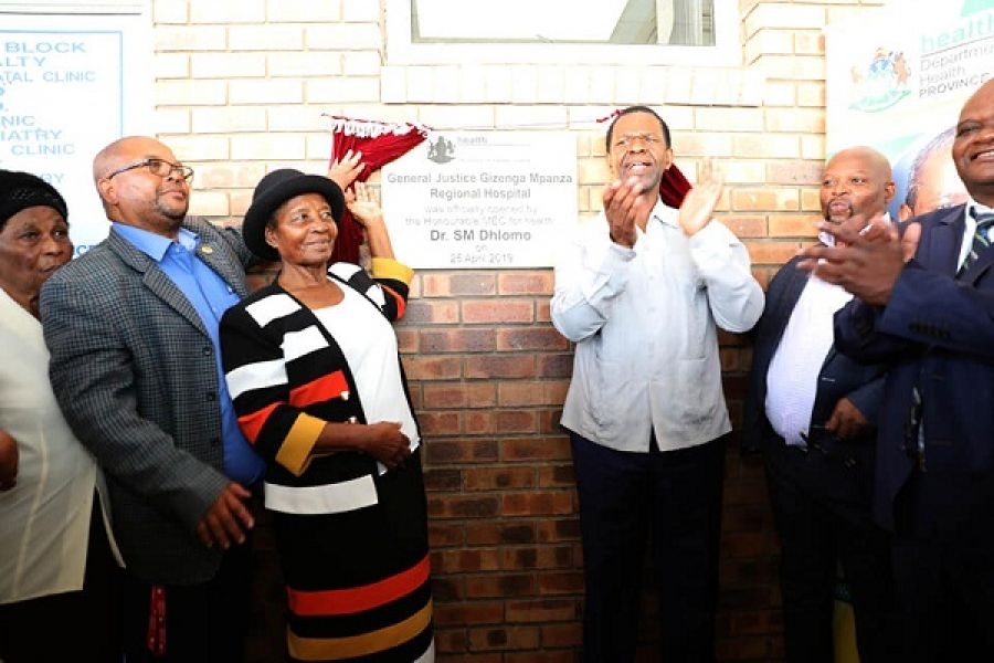 MEC Dhlomo Urges Newly-Renamed Hospital to Honour the Legacy of Fallen Struggle Stalwart Gizanga Mpanza by Treating Patients Well at All Time