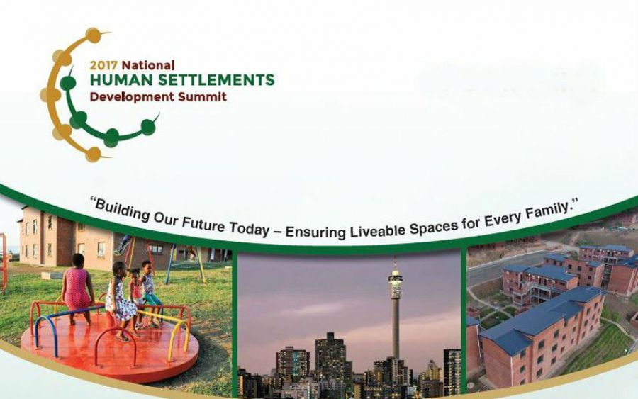 The National Department of Human Settlements to host the Human Settlements Development Summit