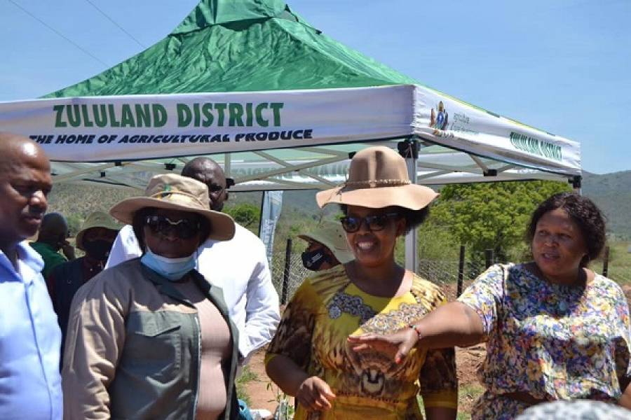 KwaZulu-Natal Executive Council's Social Cluster Launched The Ndalini Rural Housing Project in Ward 4 of uPhongolo Municipality