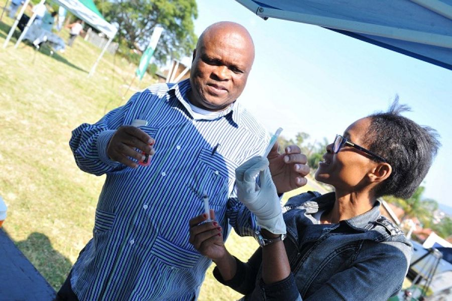 KZNDARD MEC Mr. Richard Themba Mthembu Joins the community of Northdale, PMB for Rabies Vaccination Drive