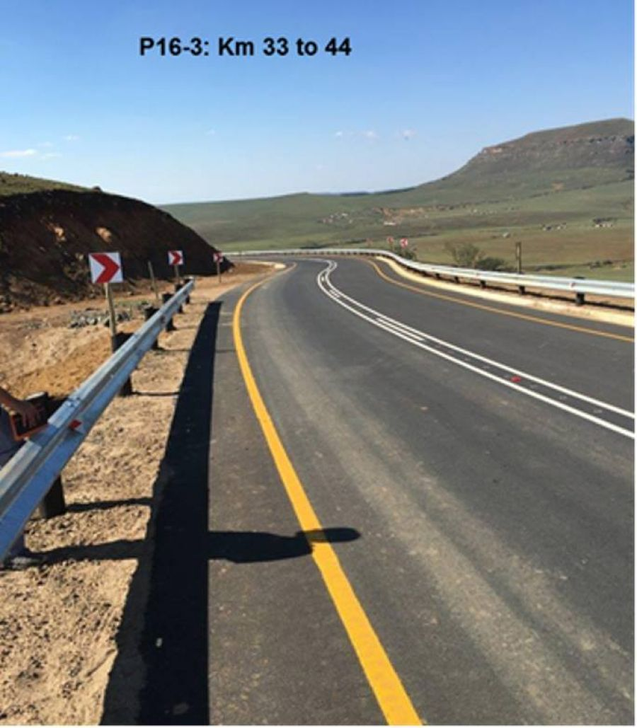 ROAD P16-3 COMPLETION OF UPGRADE OF 11 KILOMETRES OF ROAD P16-3