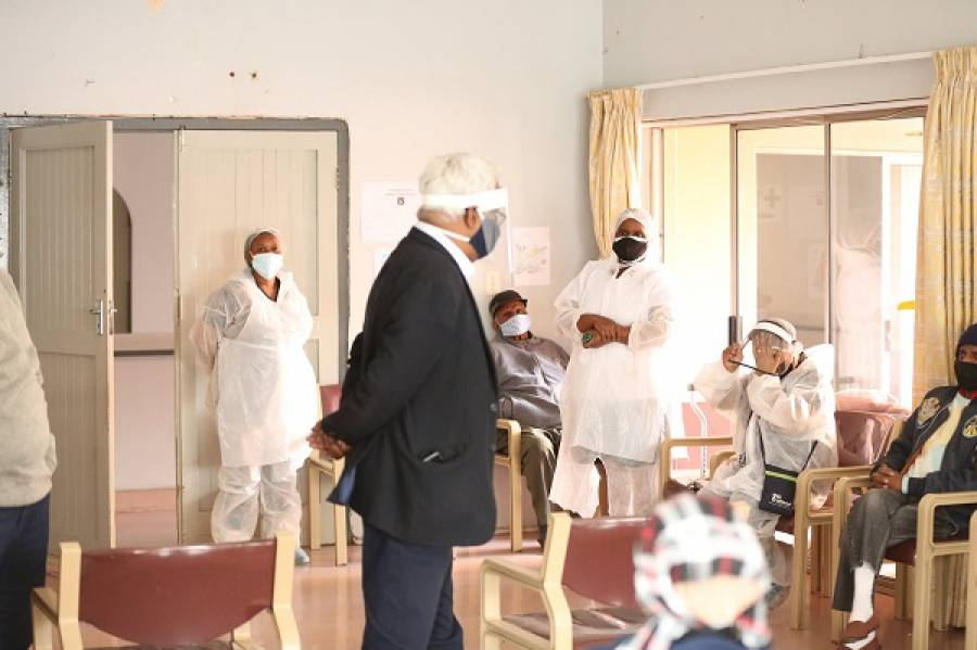 MEC Pillay Pays Visit To Aryan Benevolent Home Following Death Of Seven Residents In Ten Days