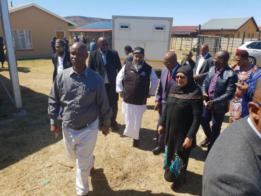 Premier Hands Over a Brand New Home to Homeless Rehaana Shaik in Uthukela District