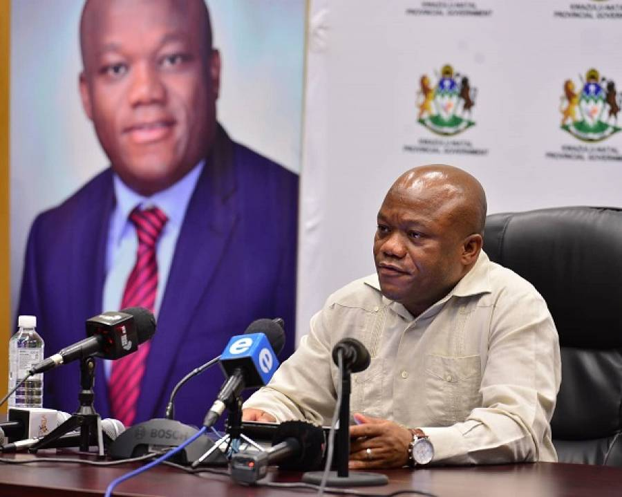 Remarks By KZN Premier Hon. Mr Sihle Zikalala On The Occasion Of A Media Briefing On COVID19