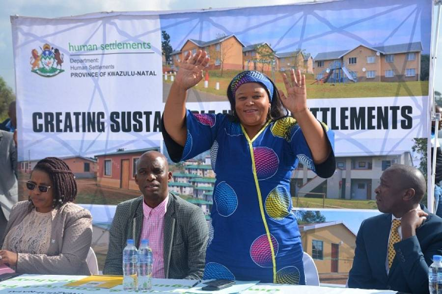 Ilembe District MEC OSS Champion Ms Nkonyeni Calls For Intensified Community Mobilisation For NHI Registration