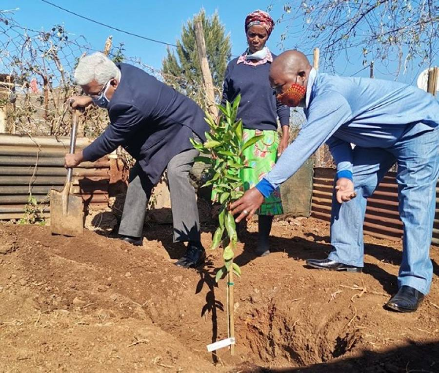 KZN Finance MEC Ravi Pillay Confident That One Home One Garden Programme Will Revive The Spirit Of Agriculture
