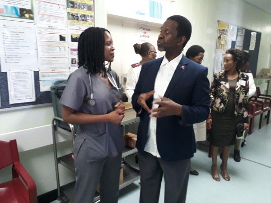 MEC Dhlomo Pleased With Cleanliness and Overall Good State of Award-Winning Charles Johnson Memorial Hospital