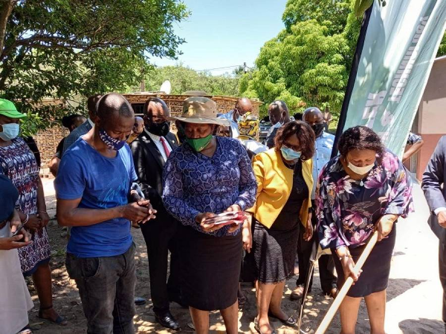KZN Social Cluster MECs Hand Over Mfekayi OSS Intervention Housing Project In Mtubatuba Municipality